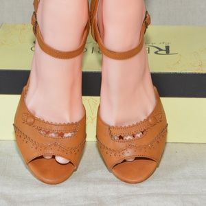 Restricted Shoes - ModCloth Wingtips and Tricks Peep Toe Heel